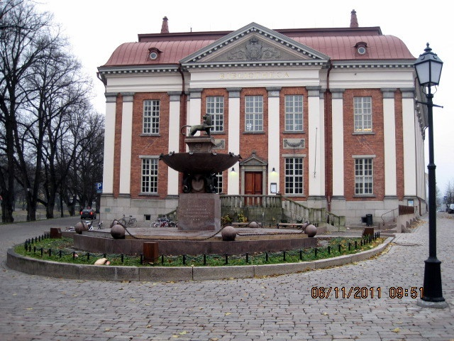 Turku, vanha kirjasto (old library)(Karl August Wrede, 1903)