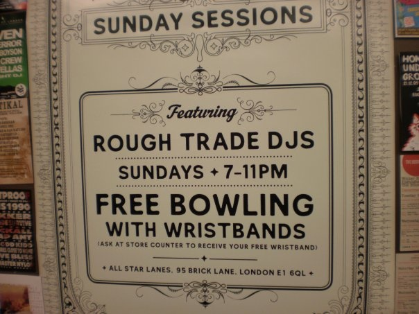 Rough Trade, East End
