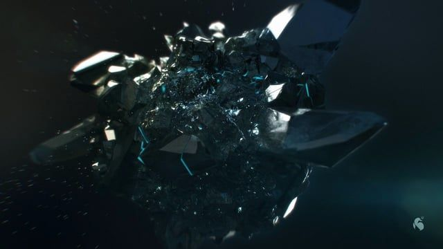 A sculpted crystal, fluids and particles make up the logo animation for games studio Deepsilver.  Client: Koch Media GmbH, Thomas Sighart Animation Studio: AixSponza GmbH, Munich Creative Director: Manuel Casasola-Merkle Art Director: Fuat Yüksel Production: Anne Tyroller Soundconcept: m-sound/ Robert Miller