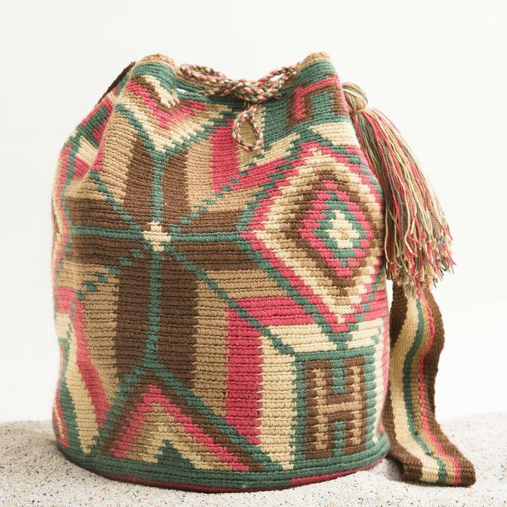 Guajira Mochila Bag – WAYUU TRIBE | Handmade Bohemian Bags 118