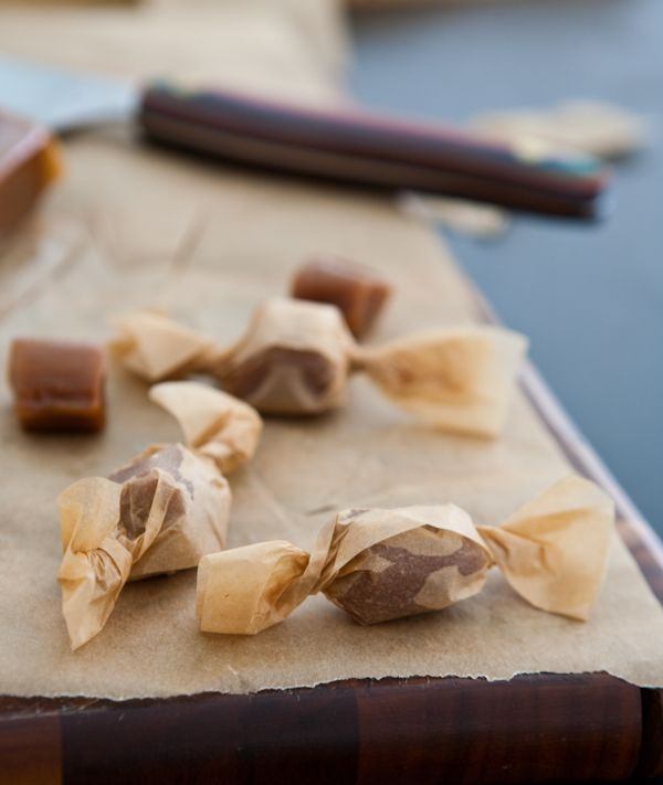 Brown Butter Caramels from @Angie McGowan (Eclectic Recipes)