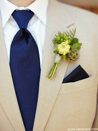 khaki suits and navy ties groomsmen - Google Search