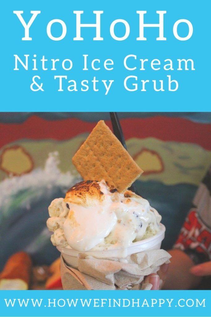Yohoho Nitro Ice Cream And Tasty Grub How We Find Happy In 2020 Tasty Ice Cream Food