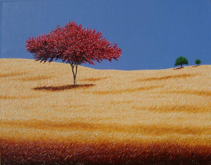 """HEARTLAND"",  24"" x 30"", oil on canvas by Jay Maggio."