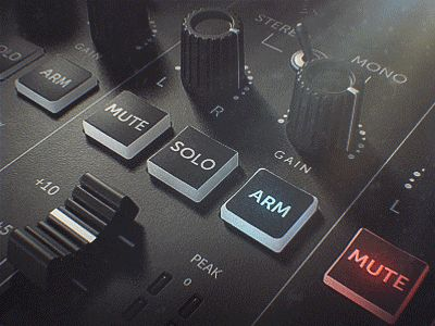 Audio Mixer #2 by Philipp