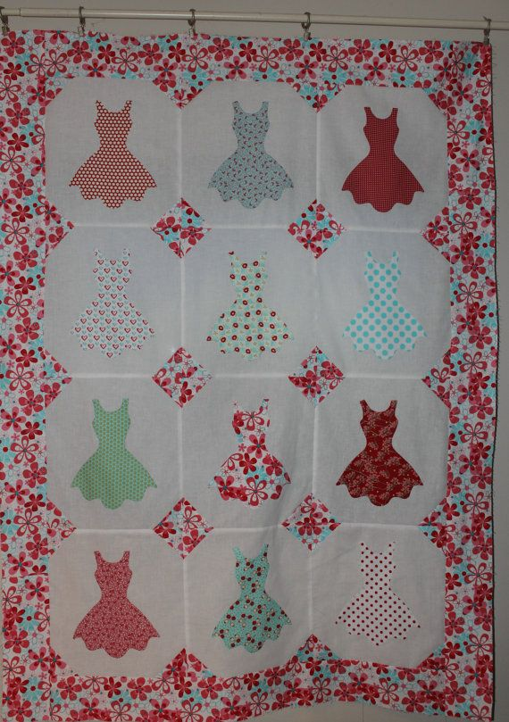 Too Cute for Words 2  Moda Fabric Quilt Top by VAMountainQuilts, $49.99