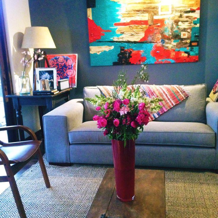 Las flores están de fiesta / en www.apiopou.cl