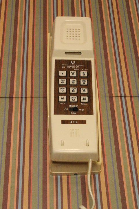 Vintage Telephone  Pushbutton Telephone Beige by ClockworkRummage, $7.50