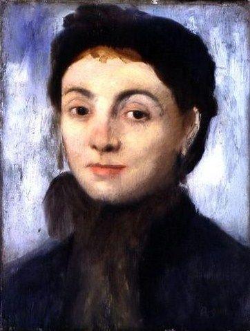 Edgar Degas (French artist, 1834–1917) Portrait of Josephine Gaujelin, 1867