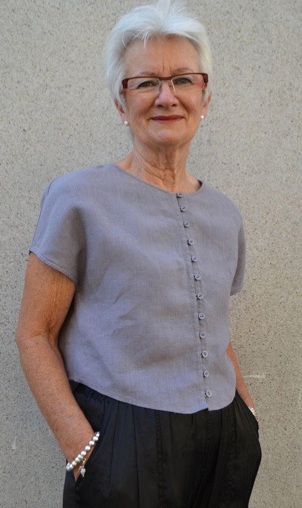 Judy Top Pattern - Patterns - Tessuti Fabrics - Online Fabric Store - Cotton, Linen, Silk, Bridal & more
