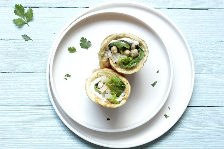 Schnell und einfach zubereitet: Probiere unsere gesunden Nordsee-Wraps mit wenig Kohlenhydraten.