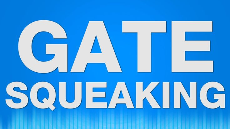 Gate Door Squeaking SOUND EFFECT - Eisentor quietschen squeak SOUNDS