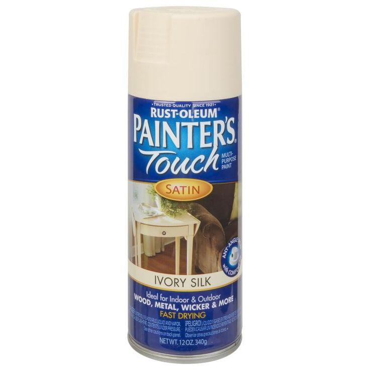 Краска аэрозольная Paint Touch матовая цвет слоновой кости 340 г