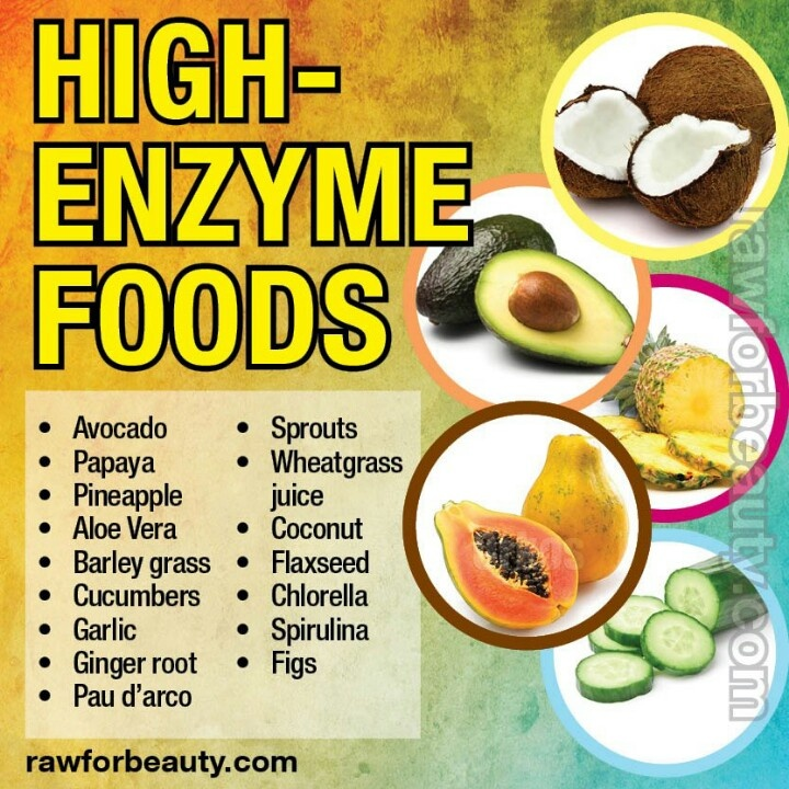 High Enzyme Foods