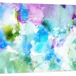 Planets Collide | Canvas Print | Various Sizes
