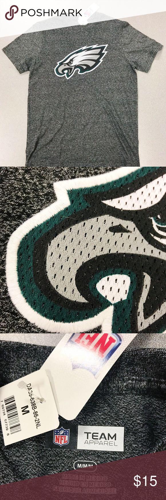 Philadelphia Eagles NFL T-Shirt Philadelphia Eagles NFL T-Shirt Embroidered Logo NFL Shirts Tees - Short Sleeve