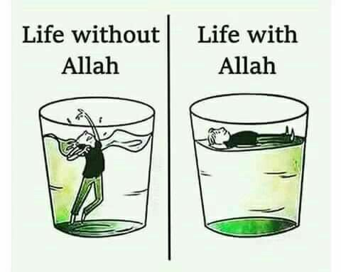 Yes We need Allah every second