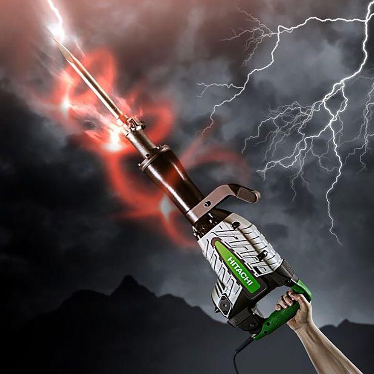 Il nostro martello H65SB2, con i suoi 42 Joule di energia per singolo colpo, è sempre pronto a distruggere qualsiasi cosa che si trovi davanti a lui!  Info: http://www.hitachi-powertools.it/it/utensili-elettrici-a-filo/martelli/martelli-demolitori/h65sb2