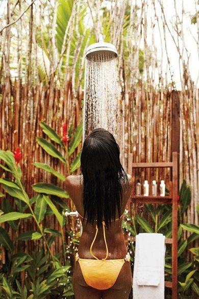 17 Best Images About Shower Outside On Pinterest Villas