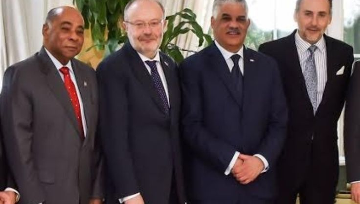 ¡-El Ministro de Relaciones Exteriores, Miguel Vargas Maldonado participó hoy en el almuerzo ofrecido por la embajada del Reino de España en el país,¡