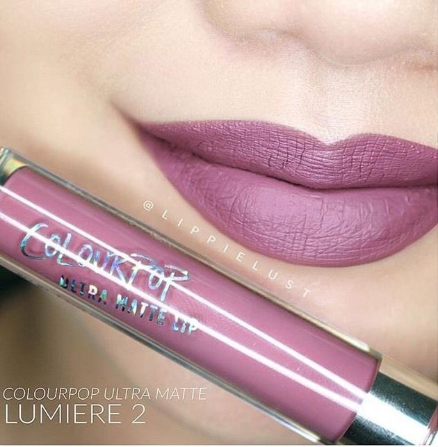 ColourPop Ultra Matte Lip liquid Lipstick in Lumiere 2 Colour Pop BNIB. On hand! #ColourPop