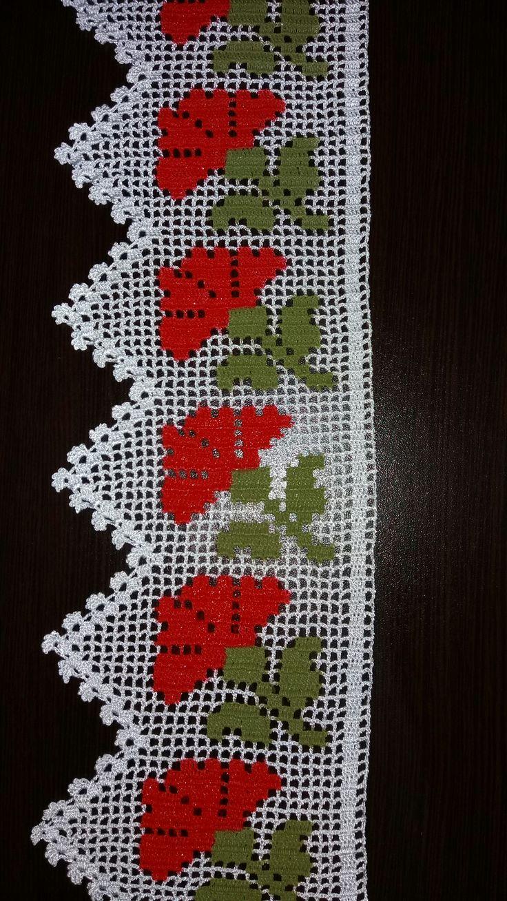 288 Best Havlu Modellerim Images On Pinterest Embroidery Punto Crochetcircularedgepatterndiagram Huzur Sokai Yaamaya Deer Hobiler