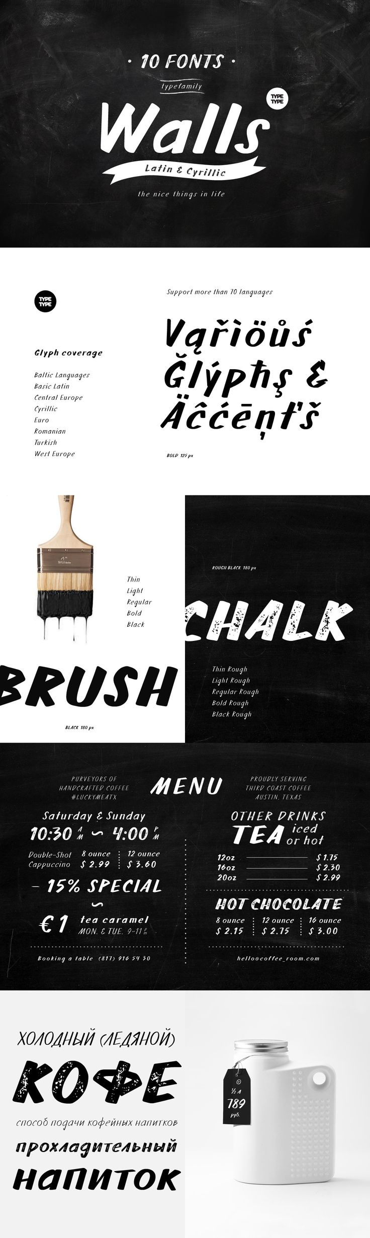 TT Walls - What do you use to write a price tag at a store or to design a wall menu in a cafe? What to choo...