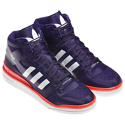 Adidas Forum Mid Crazy Light shoes (worn by Taeyeon SNSD during Running Man)