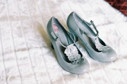 .: Kicks Shoes, Pretty Shoes, Baby Blue, Shoes Boxes, Hello Pretty, Color, Blue Shoes, Vintage Shoes, Something Blue