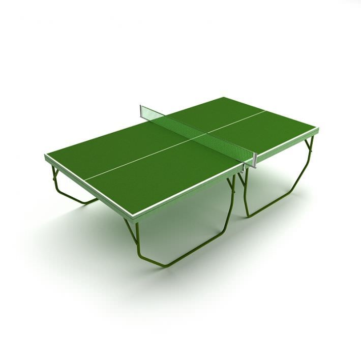 Green Color Tennis Table By Evermotion Highly Detailed Model Of Tennis Table With All Textures Shaders And Mater Table Tennis Table Tennis Board Green Colors