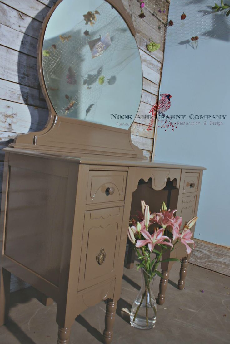 furniture nook. antique vanity dresser brown furniture painted nook and cranny company