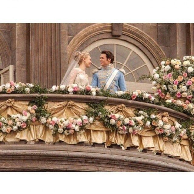 Cinderella and Prince Charming ♥ Lily James and Richard Madden