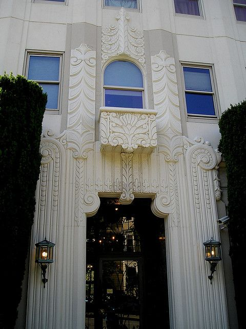 #ArtDeco | 2090 Broadway, Pacific Heights, San Francisco. Designed by Herman C. Baumann, 1935.