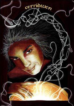ESCORPIÃO- CERRIDWEN (Deusa da Fertilidade)Para os galeses, Cerridwen é uma Deusa Tríplice (donzela, mãe e mulher idosa), cujo animaltotêmico é uma grande porca branca. Ela é a mãe que conserva todos os poderes da sabedoria e do conhecimento. Ela é a Deusa que devemos reverenciar nos momentos de dificuldades e anulação de qualquer tipo de malefício. Ela é a Deusa do caos e da paz, da harmonia e da desarmonia.