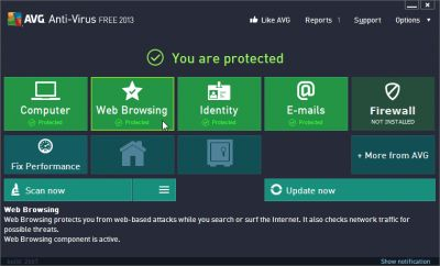 Free download AVG Free Anti-virus 2013 Offline Installer