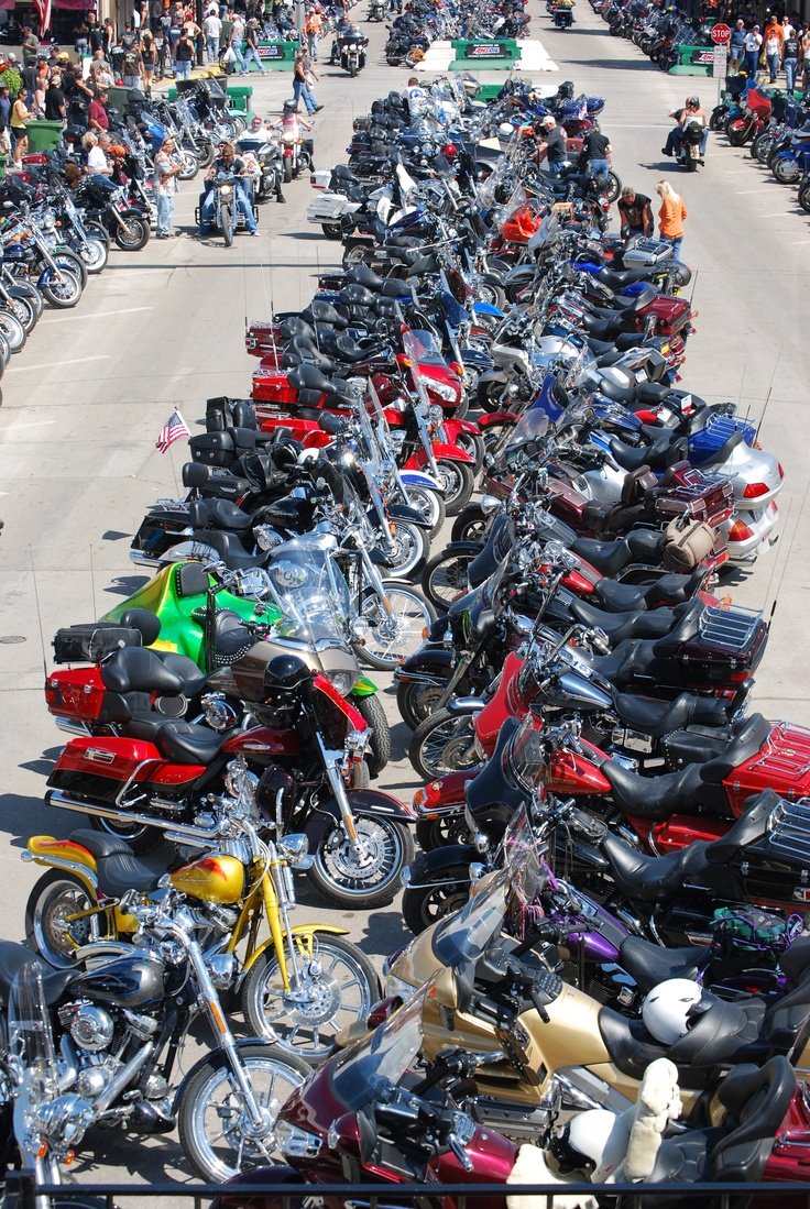 Sturgis Motorcycle Rally  Sturgis, SD 2011  @Patti Orman I'm sorta begging your son to go with me! lol