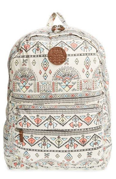 Billabong 'Hand Over Love' Geo Print Backpack available at #Nordstrom