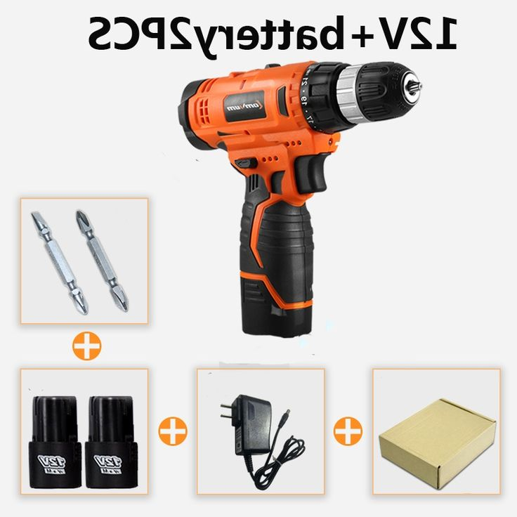 33.50$  Watch now - https://alitems.com/g/1e8d114494b01f4c715516525dc3e8/?i=5&ulp=https%3A%2F%2Fwww.aliexpress.com%2Fitem%2F12V-electric-hammer-drill-screwdriver-rechargeable-mini-electric-screwdriver-with-2pcs-battery-drill-bit%2F32769735507.html - 12V electric hammer drill screwdriver rechargeable mini electric screwdriver with 2pcs battery drill bit
