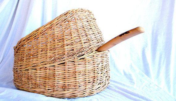 Hand Woven Storage Basket от TeneBasket на Etsy