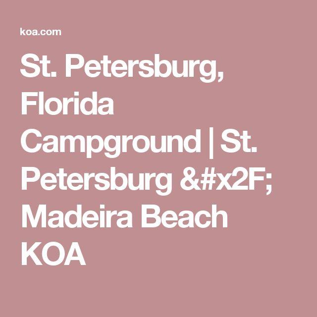 St. Petersburg, Florida Campground   St. Petersburg / Madeira Beach KOA