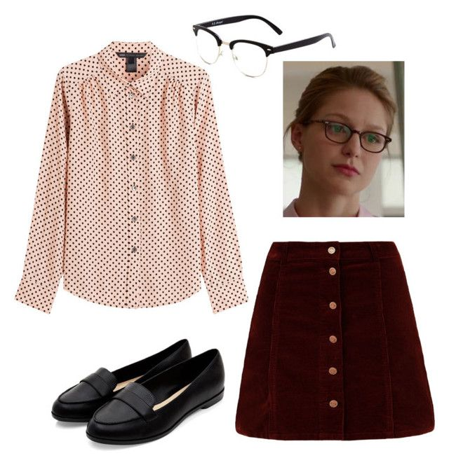 """""""Kara Danvers"""" by rebellious-ingenue ❤ liked on Polyvore featuring Marc by Marc…"""
