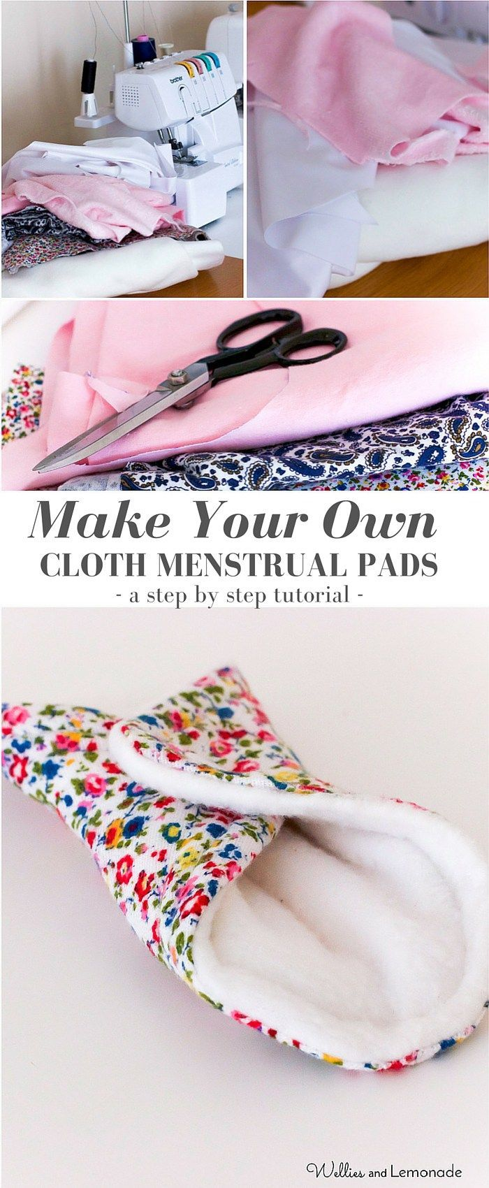 Want to give it a try and make your own pads? Try this step by step tutorial with free printables! Pin now for later
