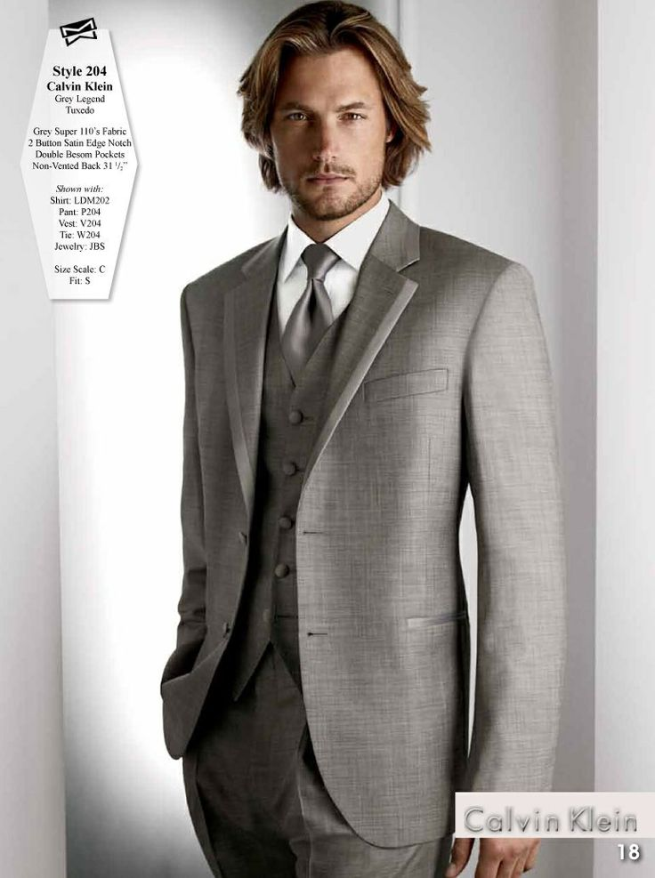 8 best images about Grey wedding suits on Pinterest | Suits, Big ...
