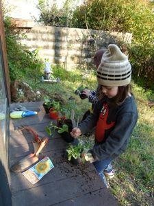 Pour que les enfants jardinent aussi!