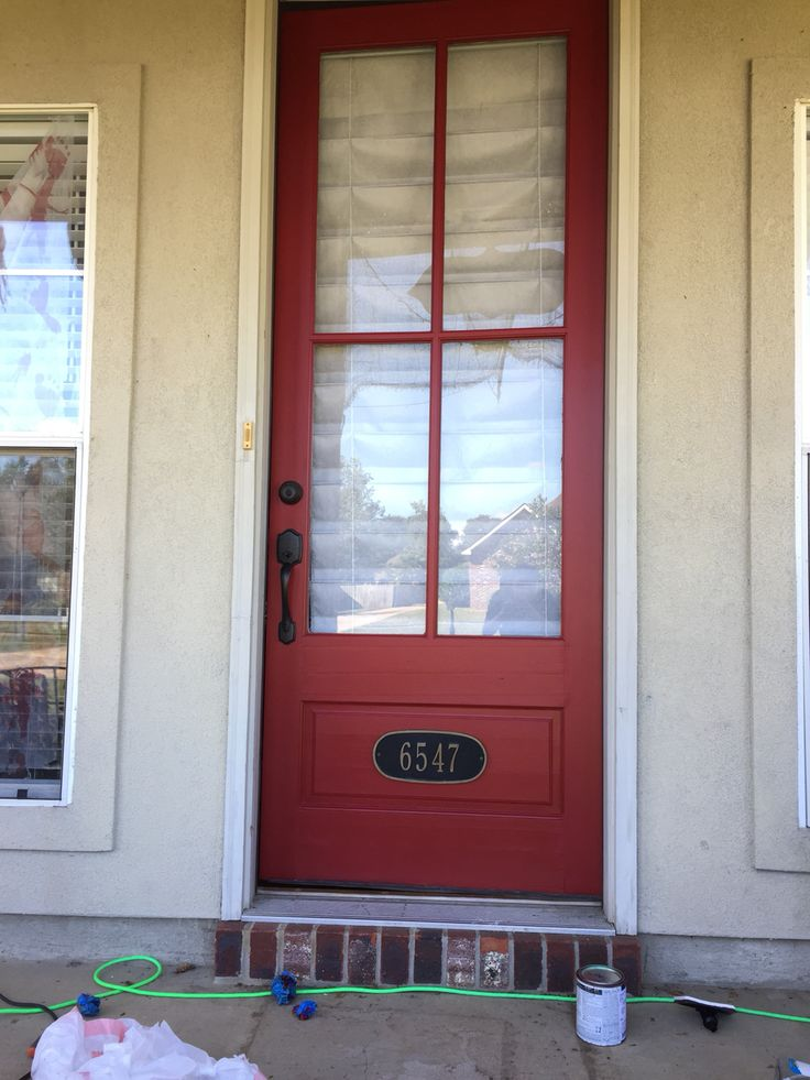 16 Best Images About Front Door Color Red On Pinterest