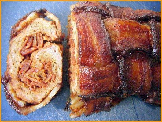 explosão de bacon