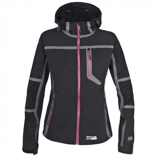 Sportinis juodos spalvos moteriškas džemperis Trespass. #winter #sport #womenfashion #ziemos #sporto #drabuziai