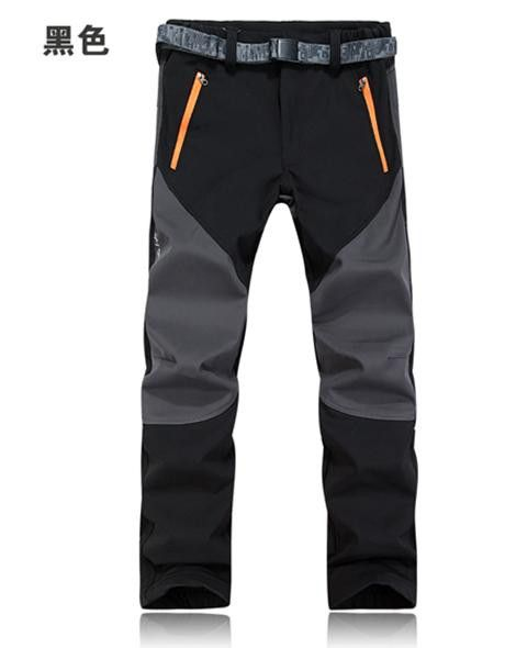 Men Women Outdoor Hiking Camping Pants Sport Softshell Pants Pantalon Trekking Mujer Water Windproof Rock Climbing Ski Trousers