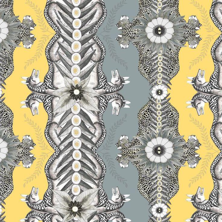 Bush Bandits Butter Dust Fabric – Ardmore-Design