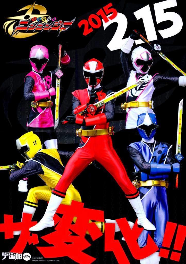 JEFusion | Japanese Entertainment Blog - The Center of Tokusatsu: Shuriken Sentai Ninninger: New Scans & ImagesIt's 2015 and Plus Plot Info